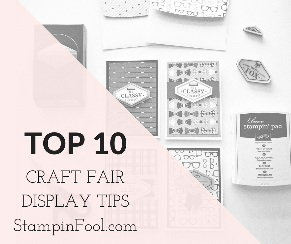 Craft Fair Tips and Tricks
