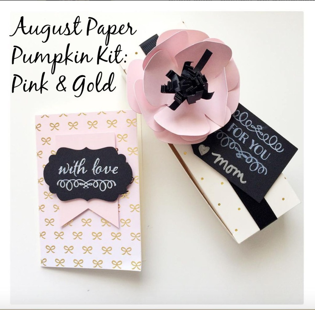 August Paper Pumpkin preview at StampinFool.com
