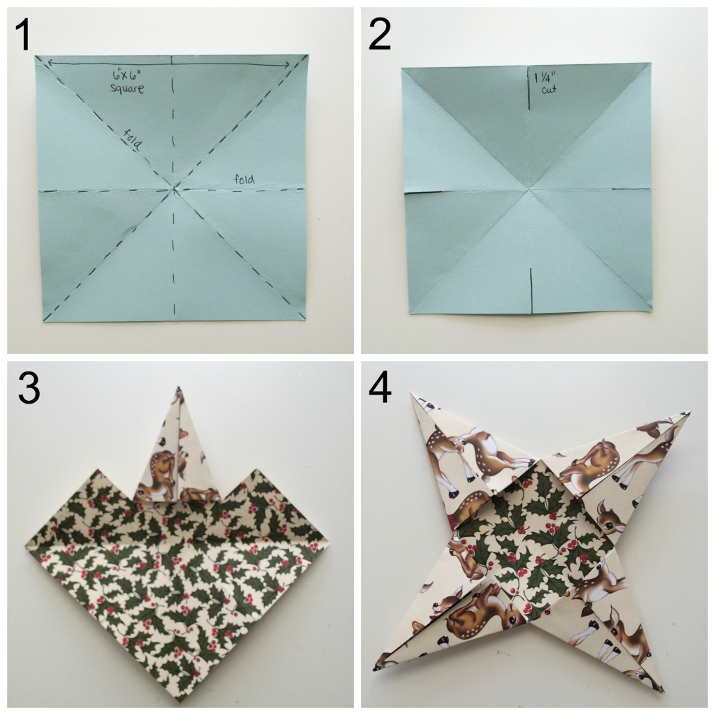 3D Paper Star Tutorial at StampinFool.com