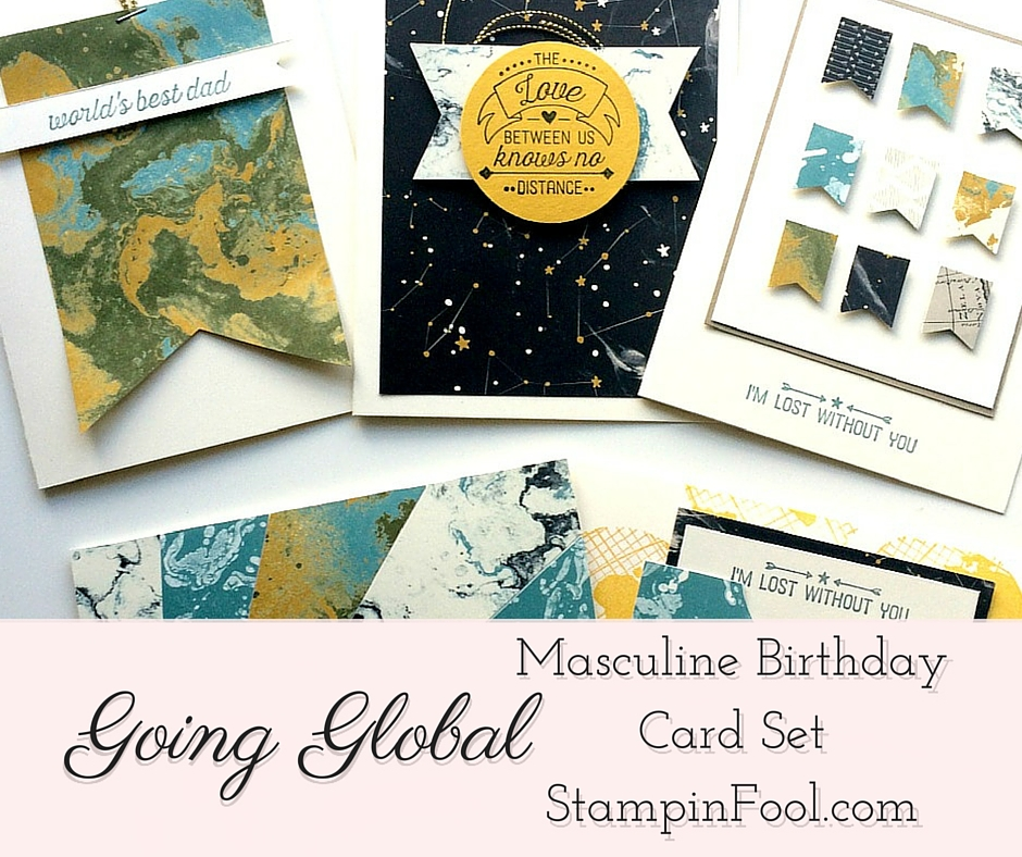 Stampin Up Going Places Masculine Birthday Card