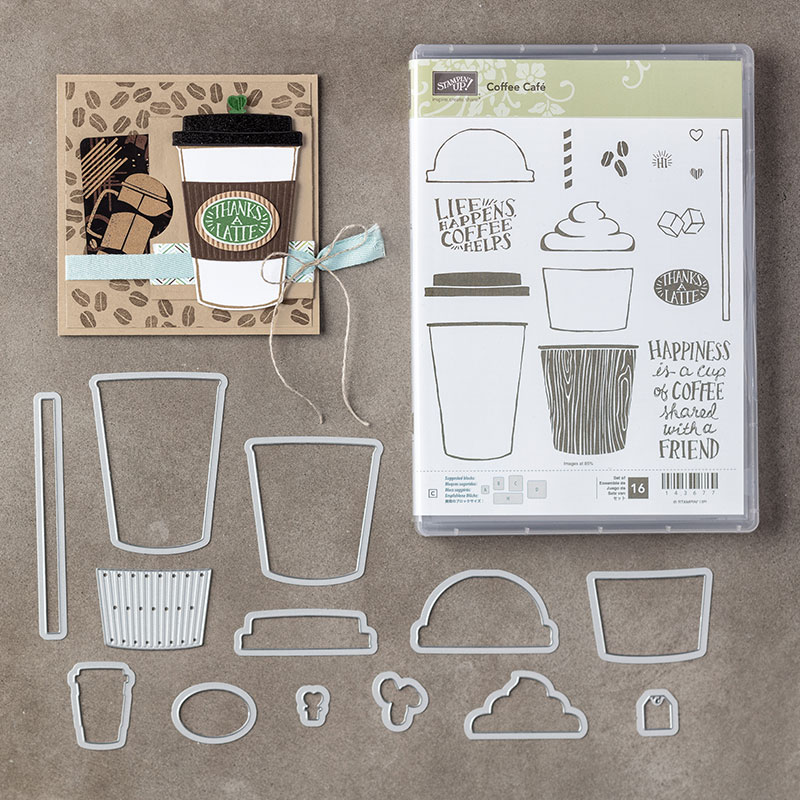 Coffee Break from Stampin Up!