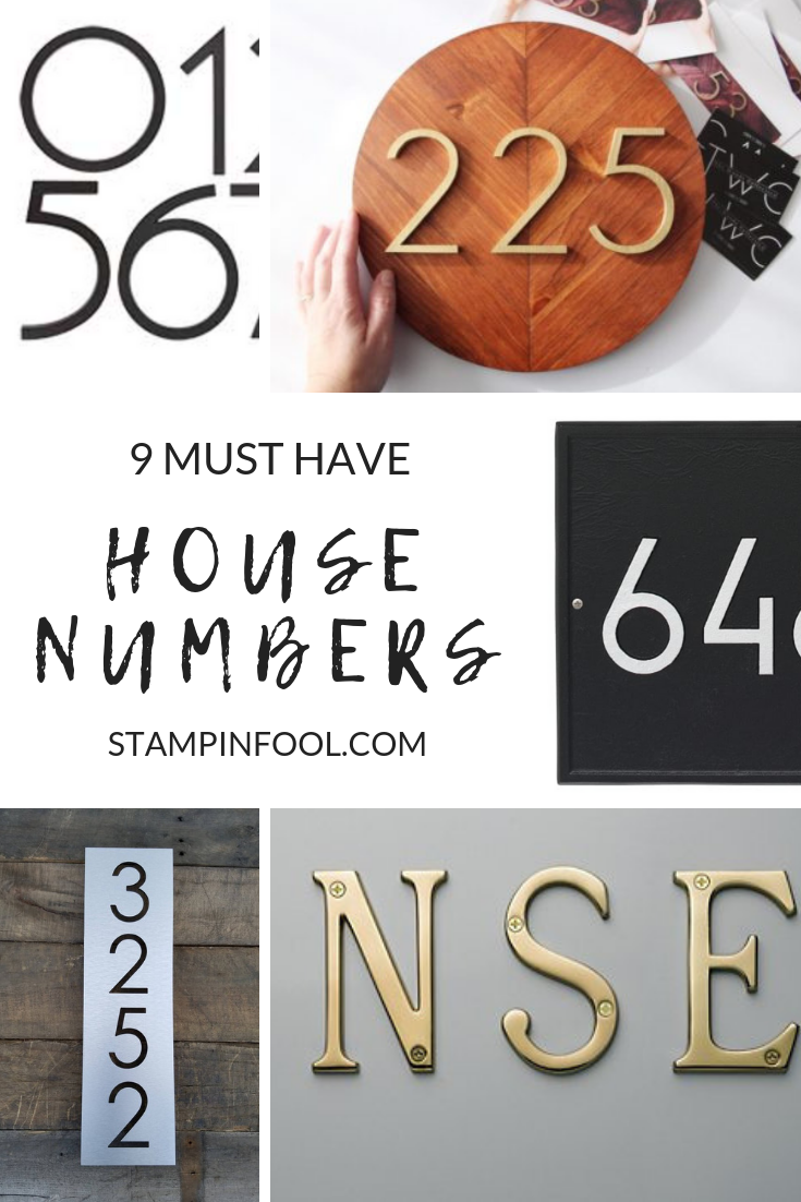 9 Must Have House Numbers