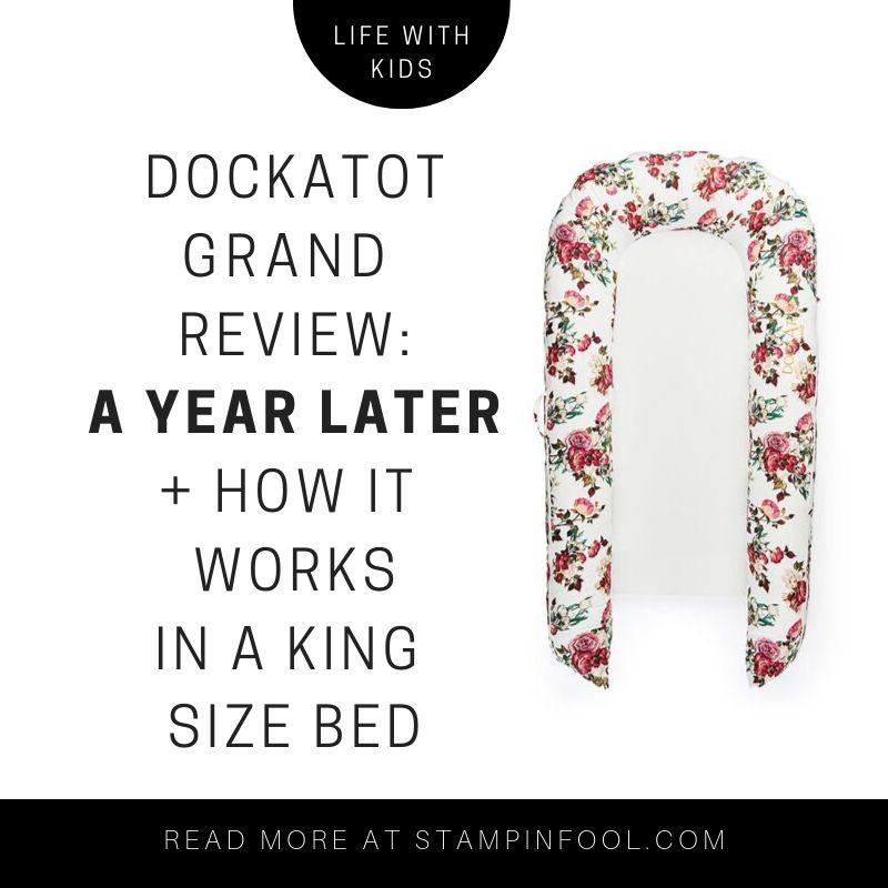 La Vie en Rose pattern in a DockATot Grand