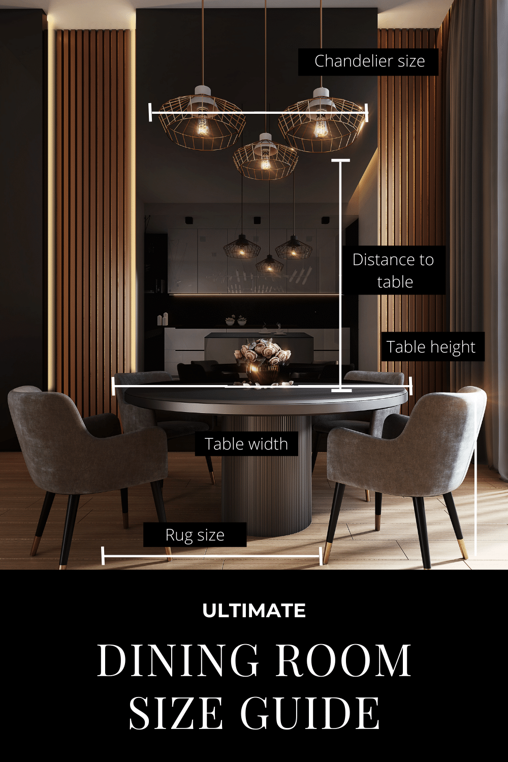 Comprehensive Dining Room Size Guide & Style Guide