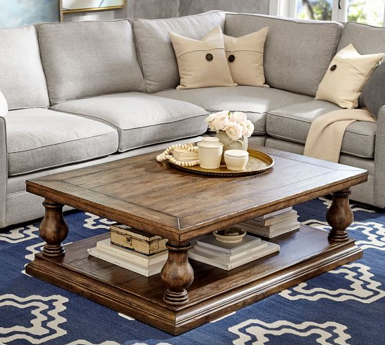Lorraine coffee table from Pottery Barn