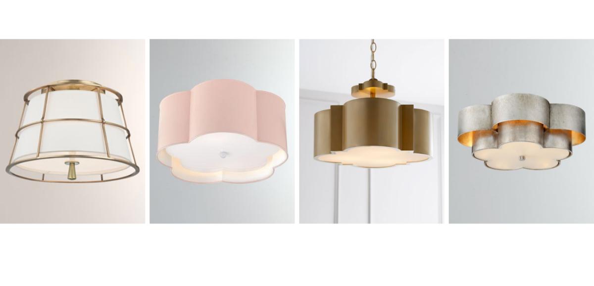 four flush mount lighting examples