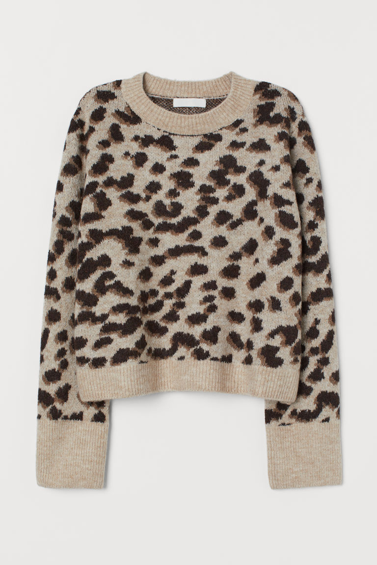 leopard print sweater from H&M.com that I wear all the time