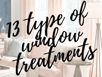 Types of Window Treatments for Every Space in Your Home | Home Decor