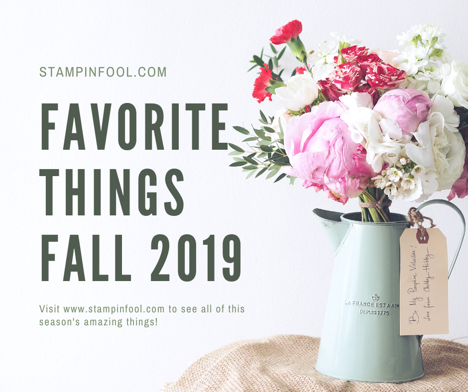Favorite Things for Fall 2019