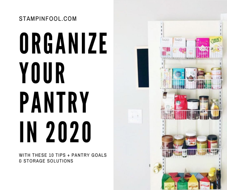 Organize your Pantry in 2020 with these 10 Tips + Storage