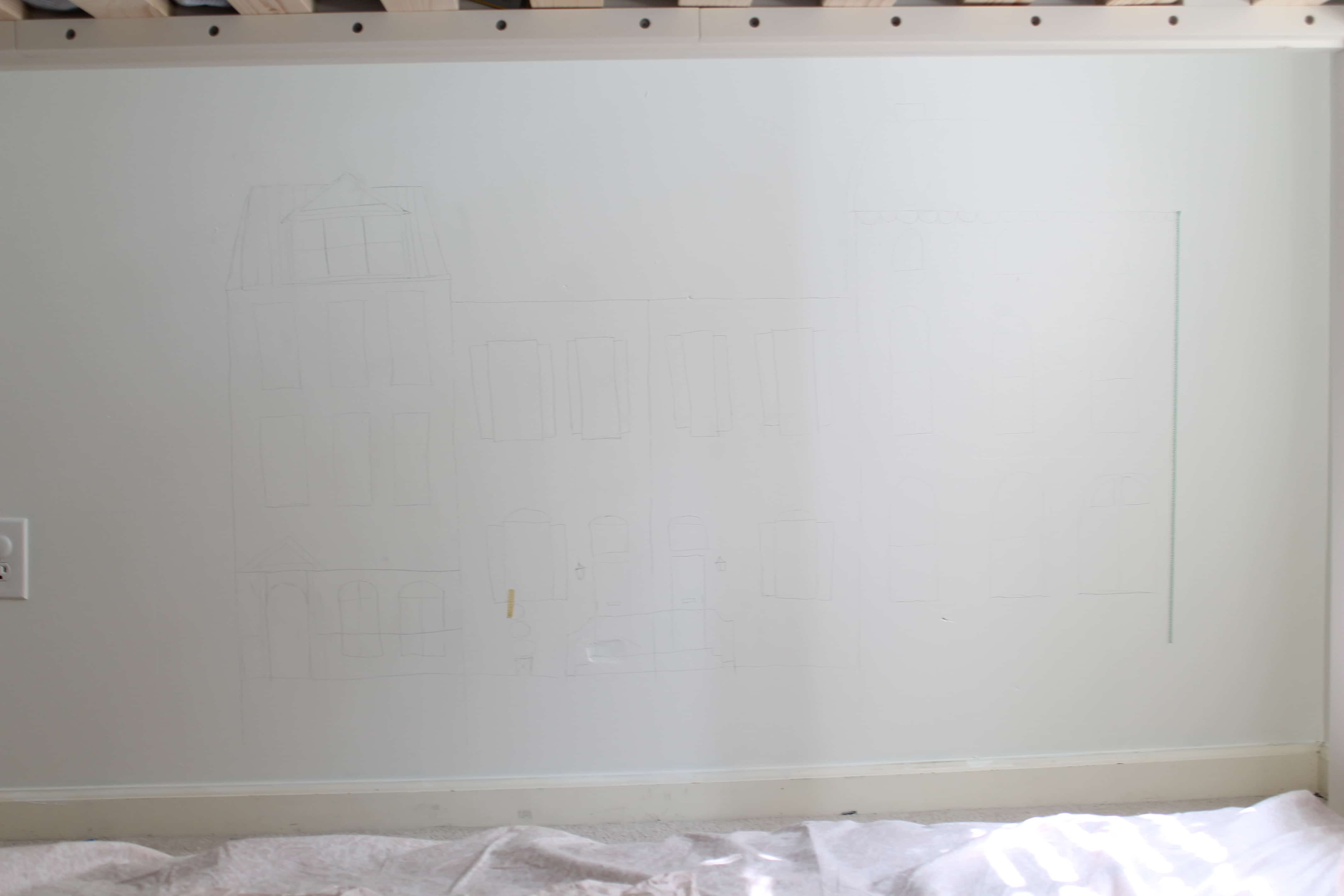 How to design a wall mural from StampinFool.com