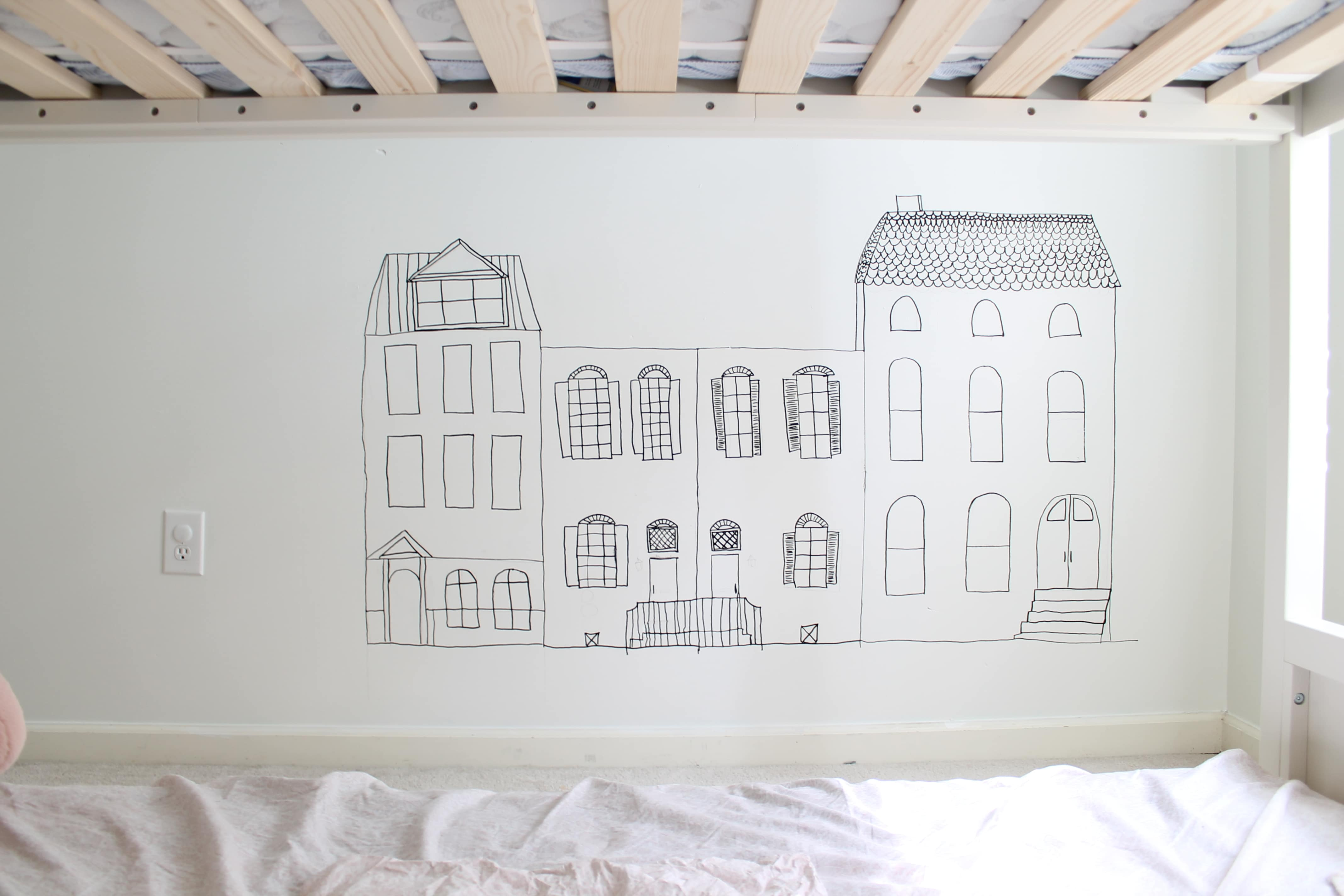 How to Paint a Wall Mural: The DIY Step by Step Guide from StampinFool.com