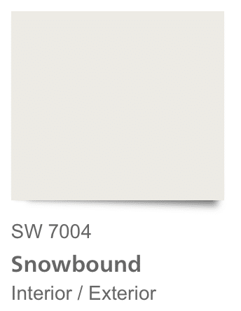 Sherwin Williams Snowbound White: Sherwin Williams Best White Paint Colors