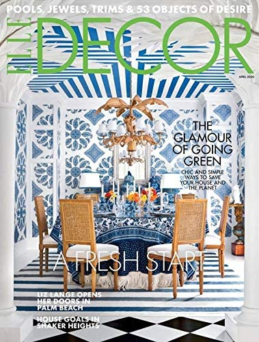 35 Top Interior Decorating Magazines: Elle Decor