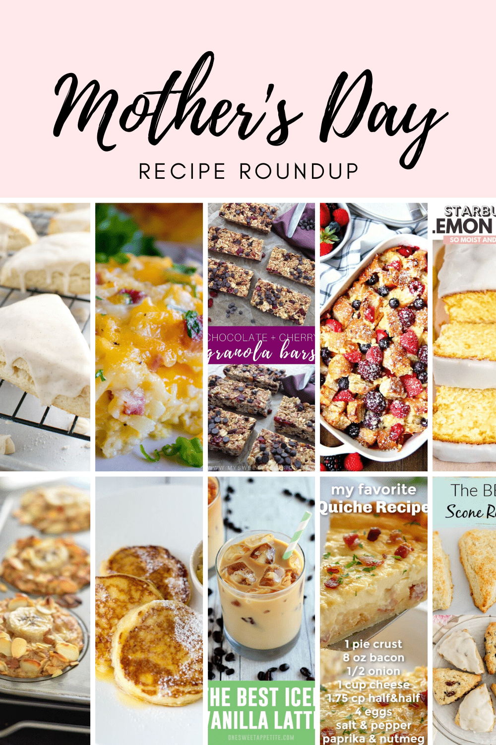 10 Mother's Day Recipes Roundup