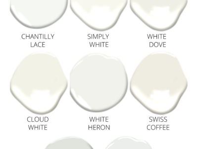 Benjamin Moore White Paint Colors