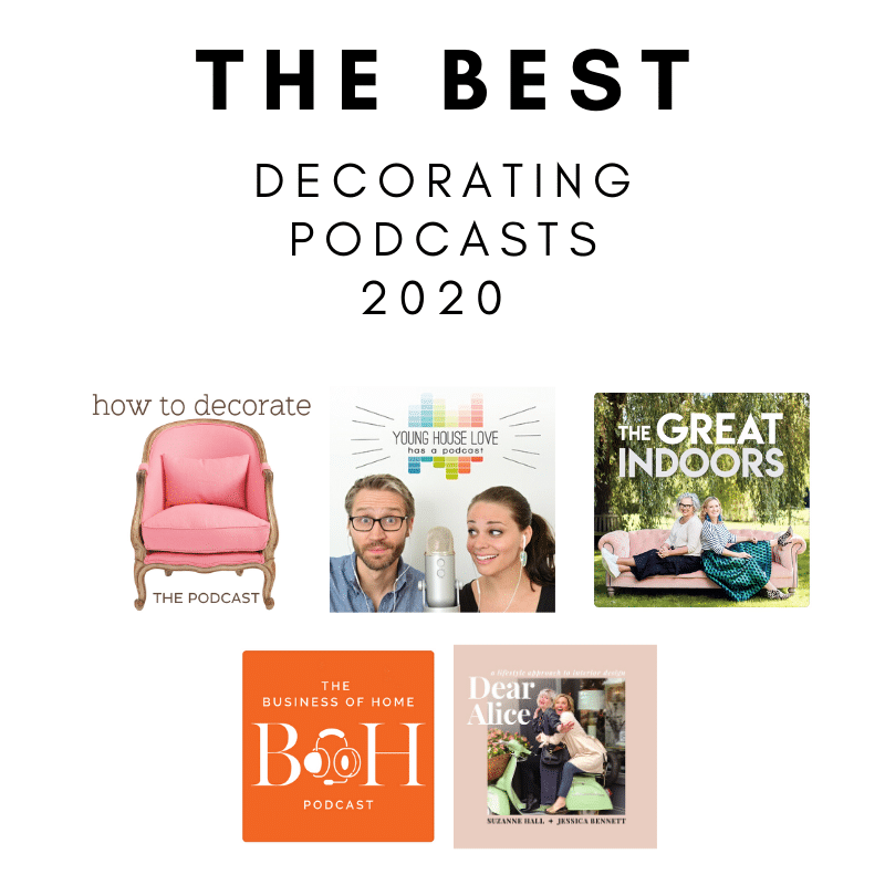 THE Best Interior Decorating Podcasts in 2020