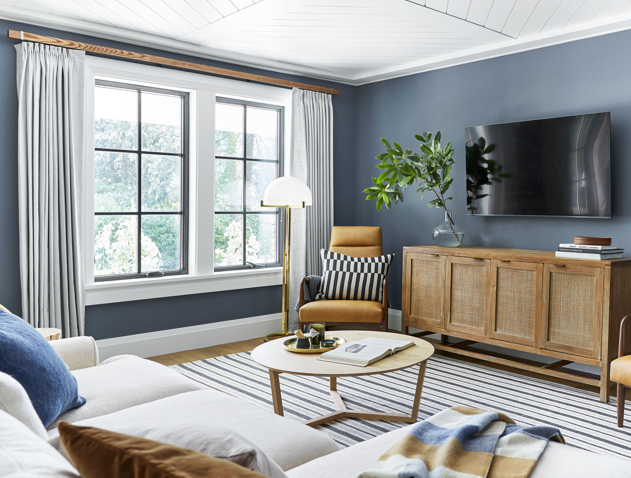 Sherwin Williams Blue Paint Colors: Emily Henderson