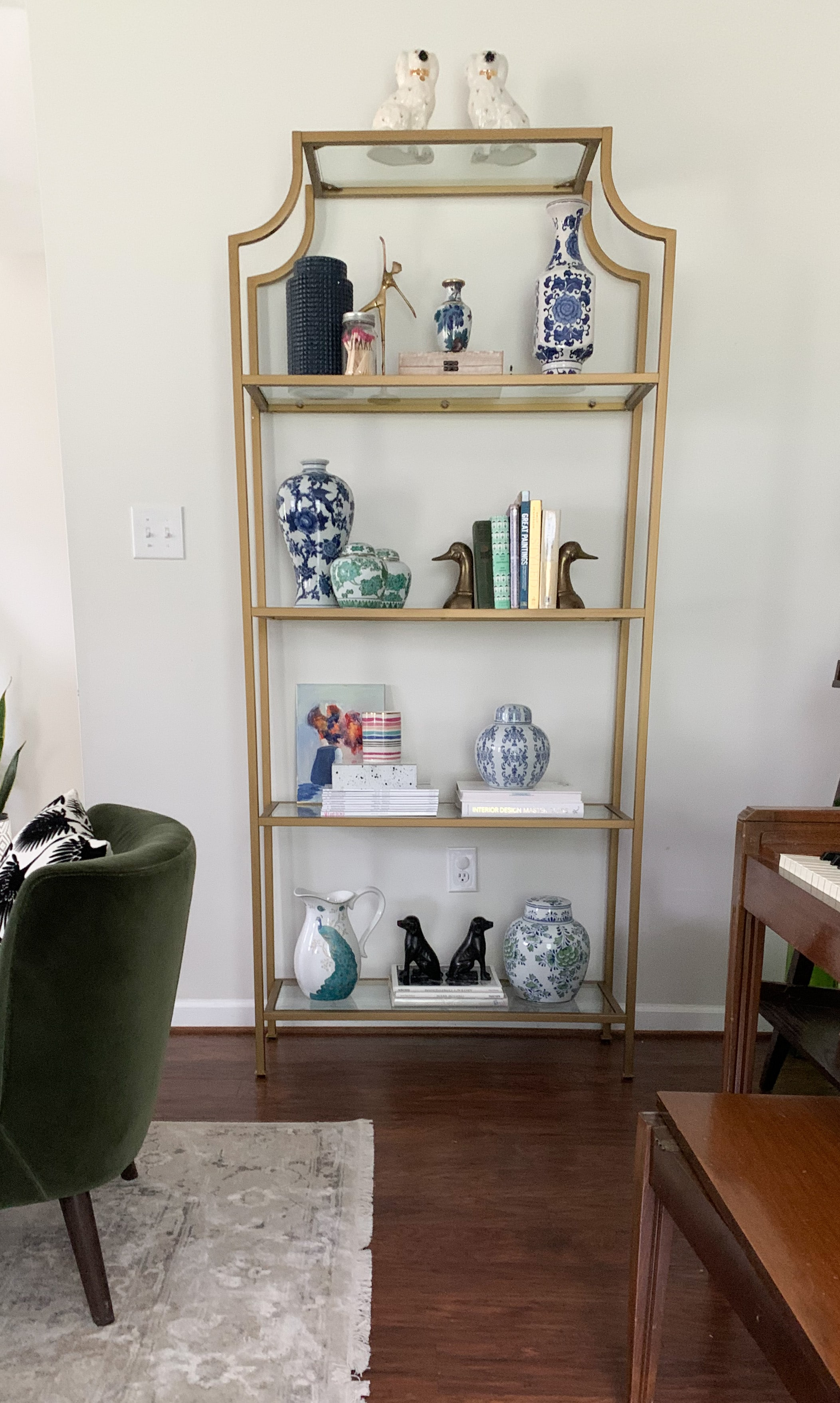 How to Style an Etagere Like a Designer: The Perfect Formula