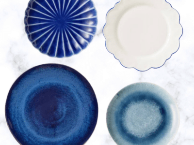 Blue Summer Entertaining Plates on Sale