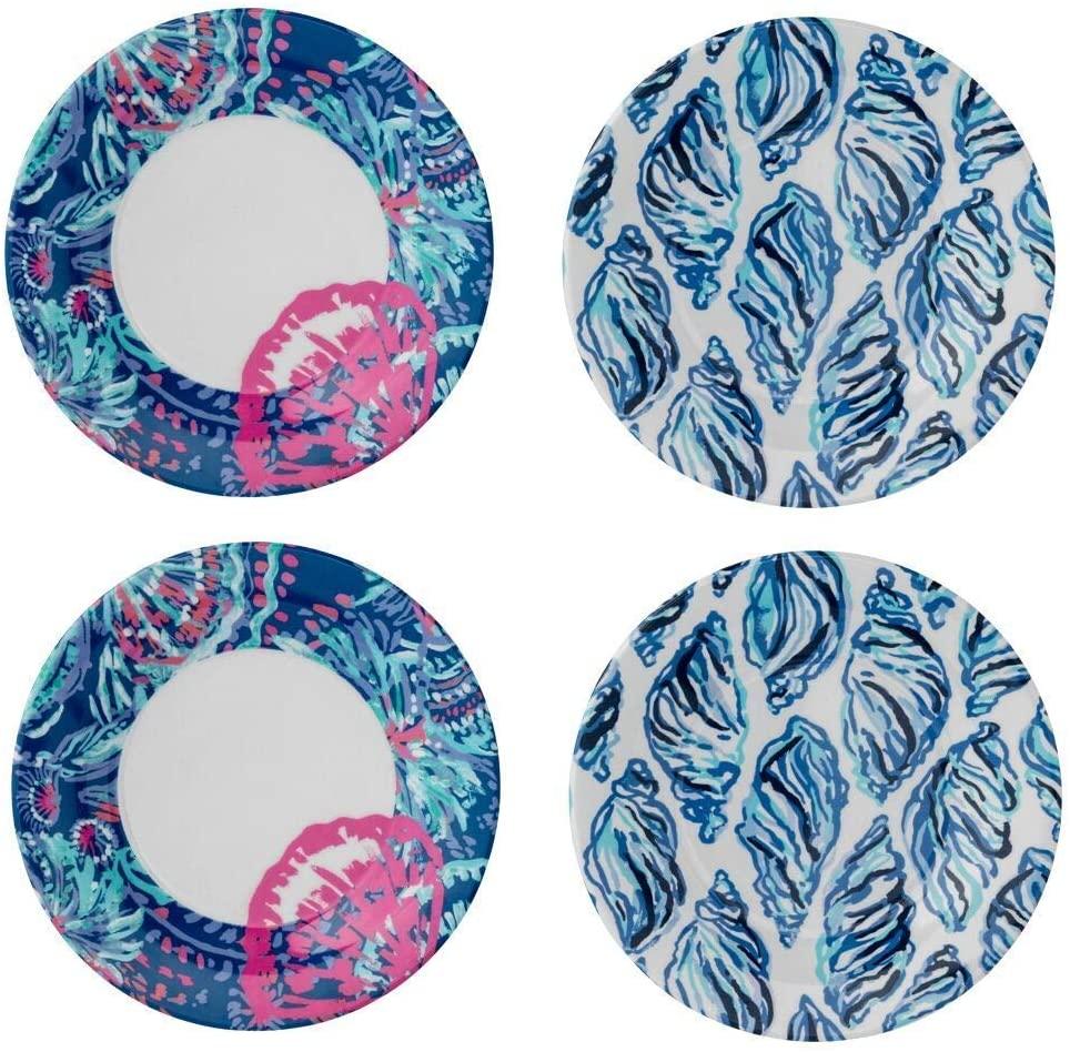 Lilly Pulitzer outdoor melamine summer plates