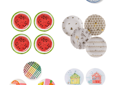 Best Summer Melamine Plates for Outdoor Entertaining & Dining