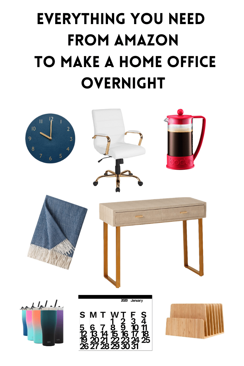 Everything you need to work from home, Set up a home office overnight.
