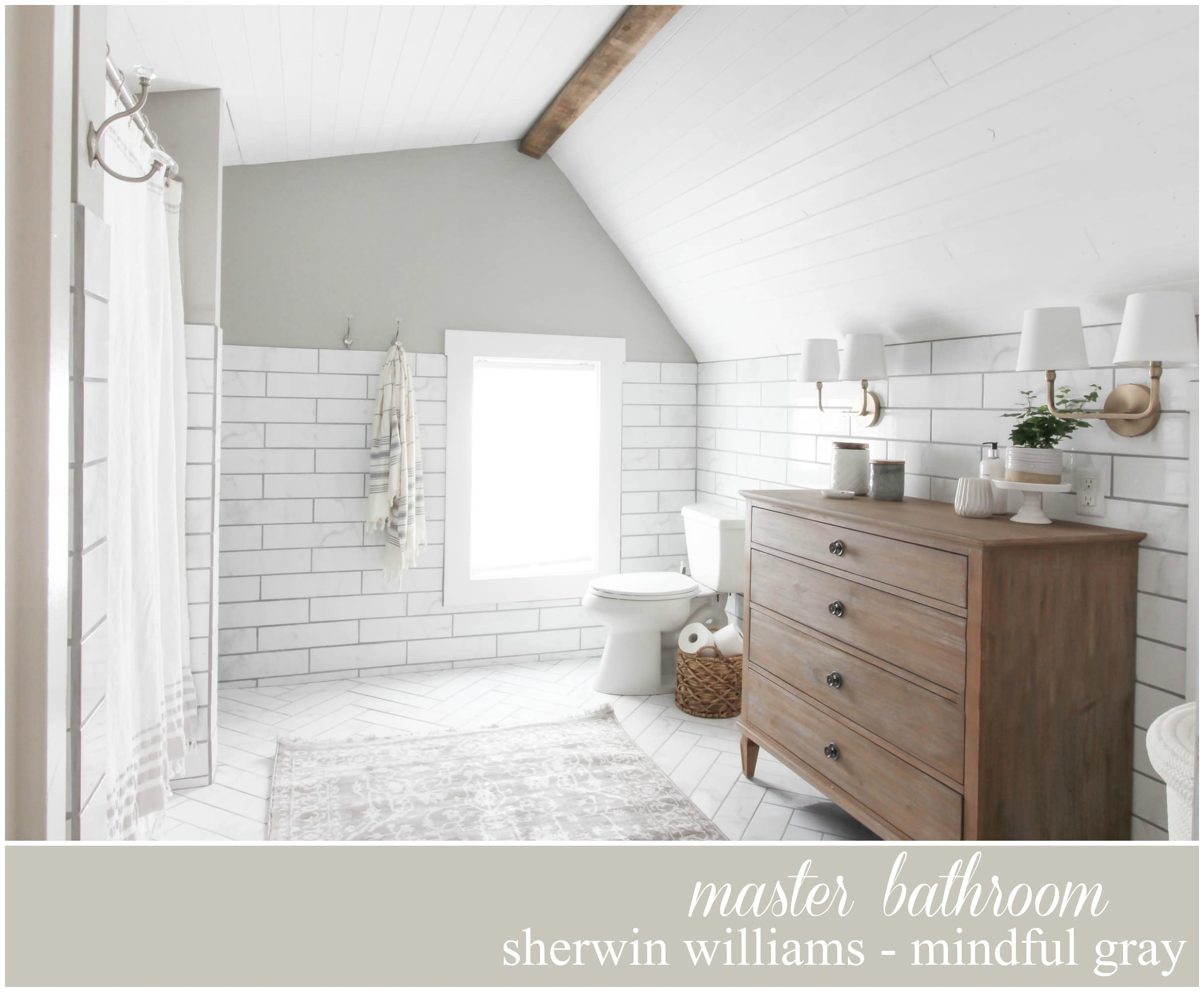 Sherwin Williams Paint color Mindful Gray