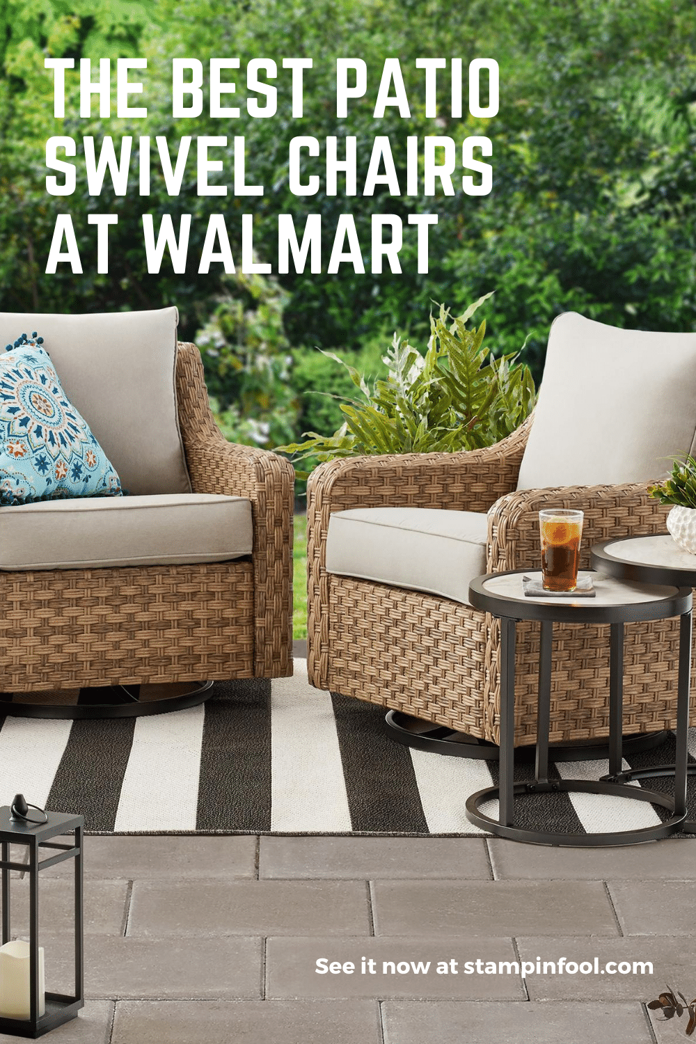The Best Patio Swivel Chairs at Walmart
