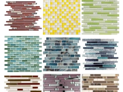 DESIGN CRIMES Mosaic tile backsplash