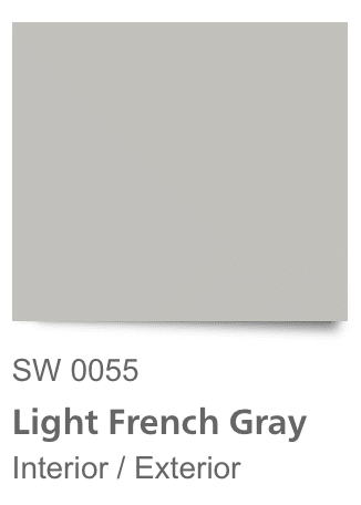 Sherwin Williams Light French Gray Paint Chip