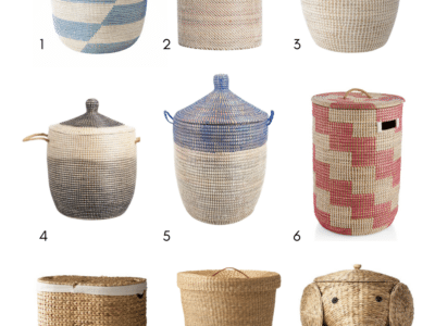 9 Must Have Woven Laundry Baskets for 2021
