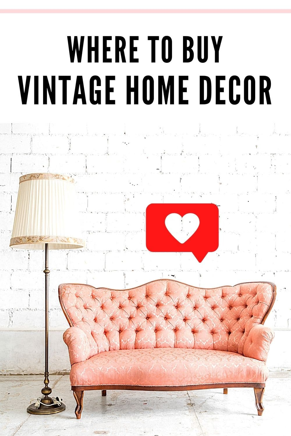 TOP 5 PLACES TO BUY VINTAGE HOME DECOR