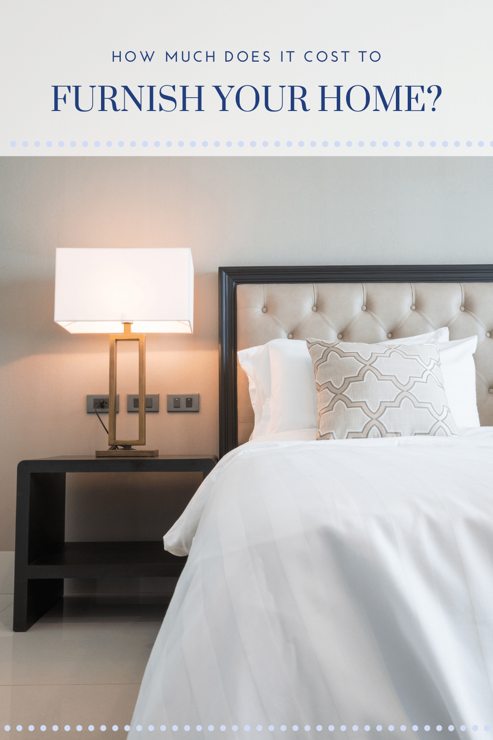How Much Does it Cost to Furnish Your Home in 2020?