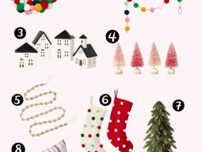 Deck the Halls with Colorful Target Christmas Decor