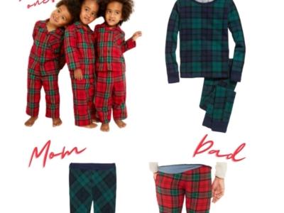 Matching Family Christmas Pajamas 2020