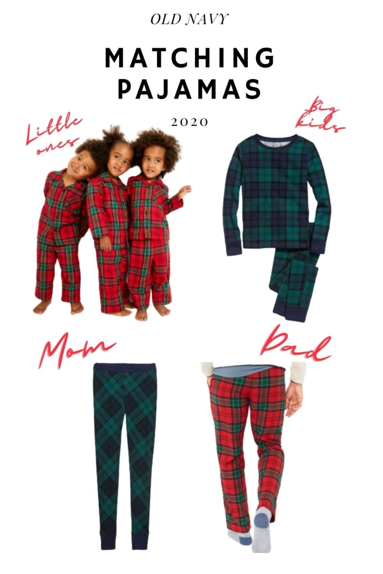 Matching Family Christmas Pajamas 2020