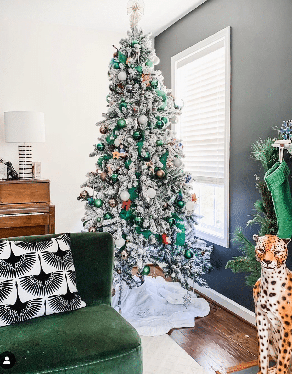 Best Flocked Christmas Tree from Walmart in 2020