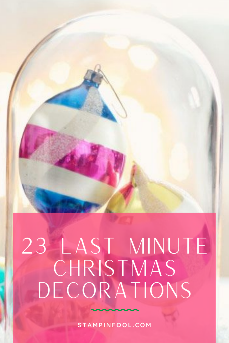 23 Last Minute Christmas Decorations