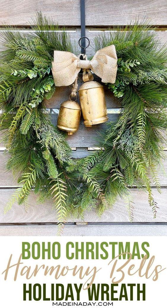 Last Minute Christmas Decor Wreaths
