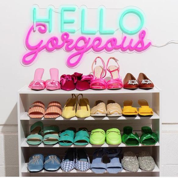 Neon Fashion Blogger sign