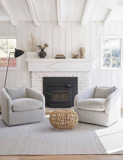 Examples of Swivel Chairs: Amelia Swivel from Wayfair $500
