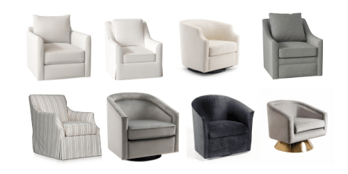 Best Affordable Swivel Chairs from your Living Room