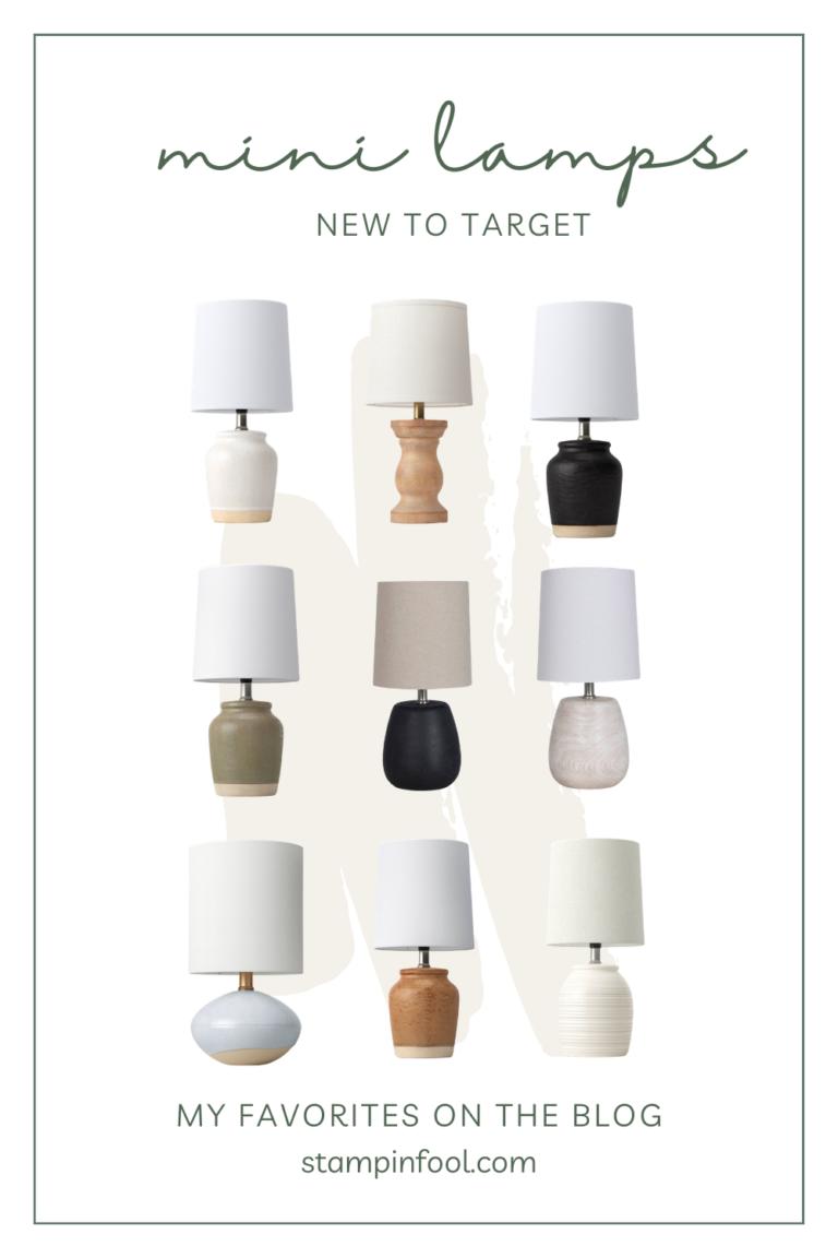 Mini Lamps NEW at Target that You Don't Want to Miss