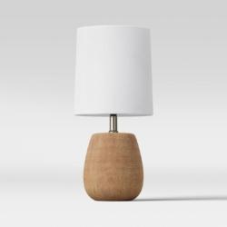 Mini Wood Accent Lamp - Threshold™