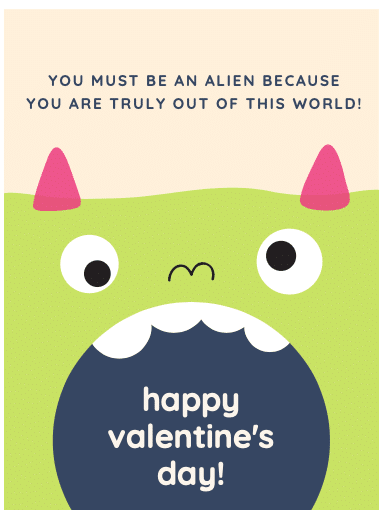 8 FREE Valentine's Day Printable Cards: Monsters + More