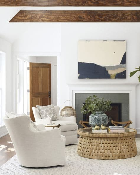 How to Layout Living Room Chairs across from a sofa