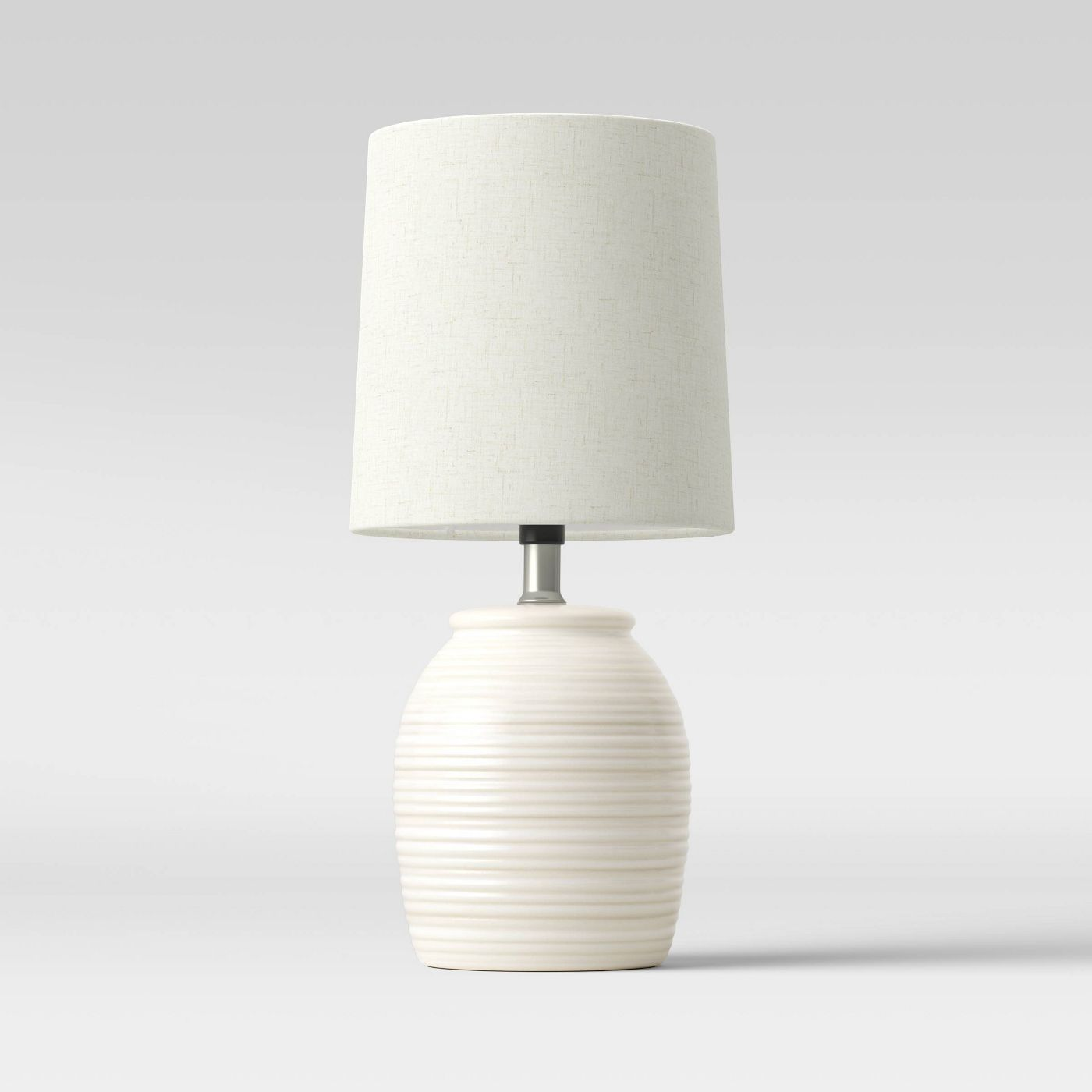 Textural Stripe Wood Accent Lamp - Threshold™
