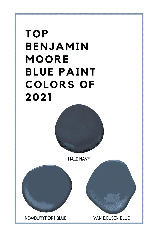 Top Benjamin Moore Blue Paint Colors of 2021