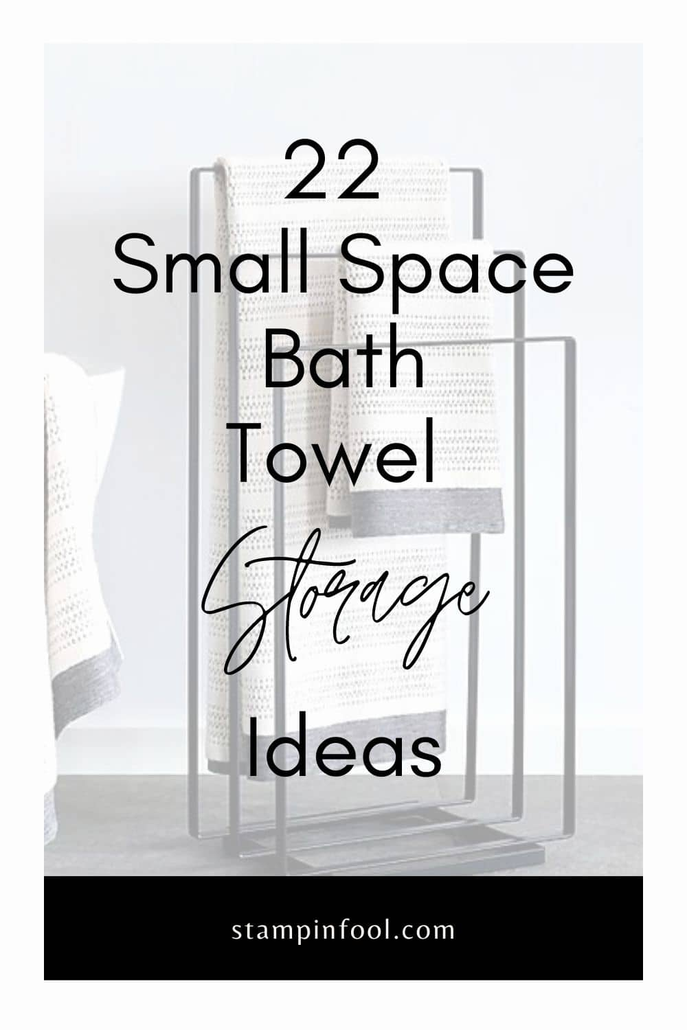 22 Designer Bath Towel Storage Ideas